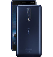 Nokia 8 64GB DUAL SIM,  blue