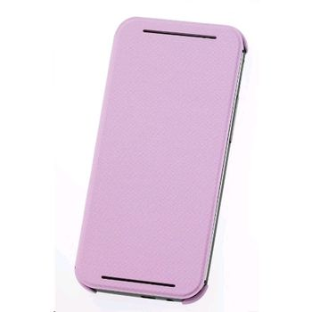 HTC ONE M8 FLIP CASE PINK,  pink