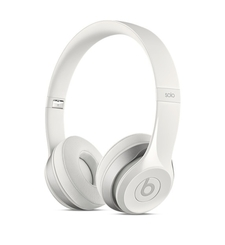 BEATS BLUETOOTH ON EAR HEADPHONE SOLO2,  white