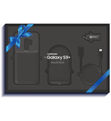 SAMSUNG S9 PLUS EID PROMO VALUE PACK -NOT FOR SALE,  black