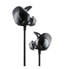 BOSE BLUETOOTH HEADPHONE SOUNDSPORT,  black