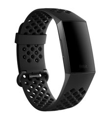FITBIT CHARGE 3 SPORT BAND LARGE BLACK
