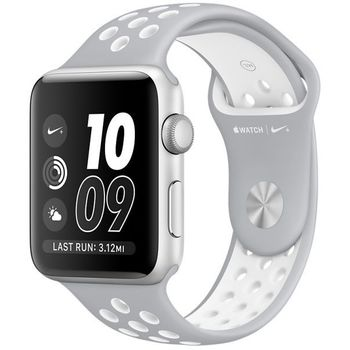 APPLE WATCH NIKE+ MNNT2 42MM NIKE SILVER