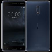 NOKIA 6 4G LTE DUAL SIM,  tempered blue, 32gb