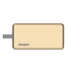 ENERGIZER POWER BANK 8000MAH MFI UE8002,  gold
