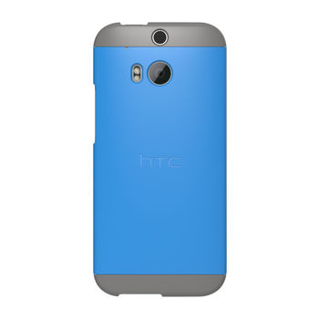 HTC ONE M8 DOUBLE DIP HARD SHELL,  blue