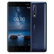 NOKIA 8 64GB DUAL SIM,  tempered blue