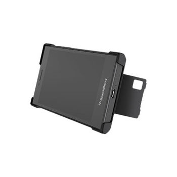 BLACKBERRY LEAP FLEX SHELL BLACK
