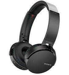 SONY J BLUETOOTH HEADPHONE EXTRA BASS,  black