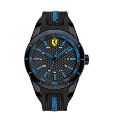 Ferrari Watch 830247 REDREV Analog Display Quartz Black