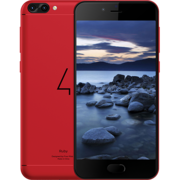 FOUR S710 RUBY 32GB DUAL SIM 4G LTE,  red