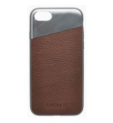 CYGNETT IPHONE 8 LEATHER CASE,  brown