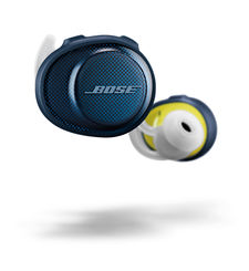 BOSE BLUETOOTH HEADPHONE SOUNDSPORT FREE,  blue