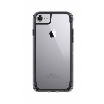 GRIFFIN IPHONE 7 BACK CASE SUVIVOR BLACK/SMOKE/CLEAR