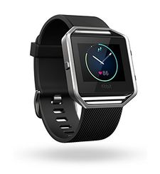 FITBIT BLAZE LARGE,  black silver