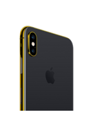 24K GOLD PLATED APPLE IPHONE XS,  space gray, 256gb