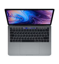 APPLE MACBOOK PRO 2018 MR932 SPACE GREY I7 8TH GEN. 2.2 6CORE 16GB 256GB RADEON PRO 555X WITH 4GB TB & ID RETINA DISPLAY WITH TT 15 INCHES ENGLISH/ARABIC