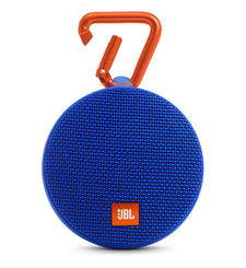 JBL CLIP 2 FULL-FEATURED WATERPROOF ULTRA-PORTABLE SPEAKER,  blue