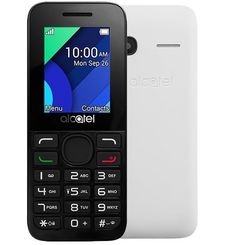 ALCATEL 1054D 4MB 2G DUAL SIM,  white
