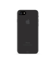 Puro TPU 0.3 Ultra Slim Cover for iPhone 7w/Screen Protector Black