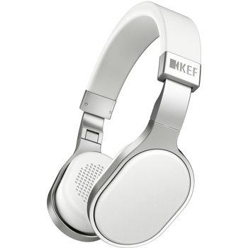 KEF M500 HI-FI BLUETOOTH HEADPHONES DESIGN,  white