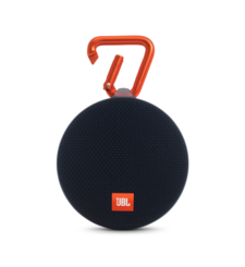 JBL CLIP 2 FULL-FEATURED WATERPROOF ULTRA-PORTABLE SPEAKER,  black