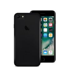 Puro iPhone 7 Ultra-Slim 0.3 Nude Cover Black