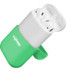 MYCANDY AIRPOD SILICONE CASES,  green