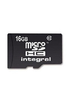INTEGRAL MICRO SD CARD 16GB+ 32GB,  black