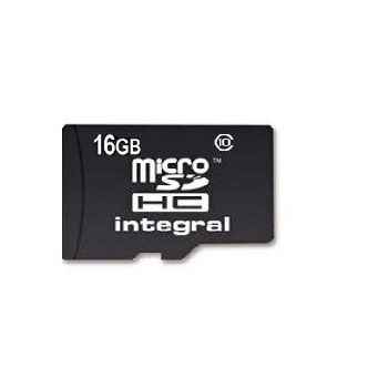 INTEGRAL MICRO SD CARD 16GB+ 64GB,  أسود