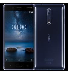 NOKIA 8 64GB DUAL SIM,  polished blue