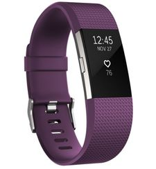 FITBIT CHARGE 2 LARGE LARYON,  plum silver