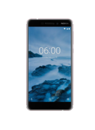 NOKIA 6.1 4G LTE 32GB DUAL SIM,  white iron, 32gb