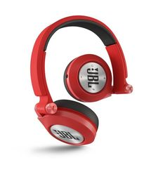 JBL ON EAR BLUETOOTH STEREO HEADSET E40,  red