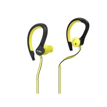 SBS IN EAR STEREO EARPHONES RUNWAY FLAT FOR MOBILES
