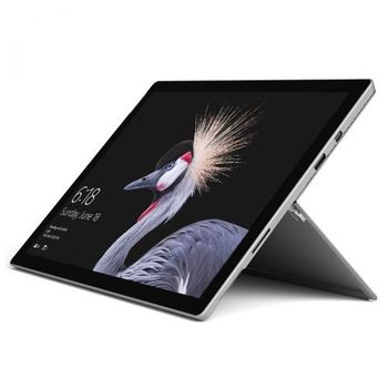 MICROSOFT SURFACE PRO 128GB SILVER I5 4GB INTEL HD GRAPHICS 620 12.3  FJU-00006,  silver