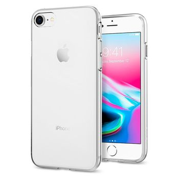 SPIGEN IPHONE 8 BACK CASE LIQUID CRYSTAL,  clear