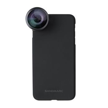 SANDMARC IPHONE 8 PLUS FISHEYE LENS WITH VERSATILE MOUNTING SYSTEM