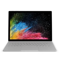 MICROSOFT SURFACE BOOK 2 2017 - INTEL CORE I7-8650U, 16GB, 1TB SSD, 2GB GRAPHICS, 13.5-INCH TOUCH HNQ-00001 - English,  silver