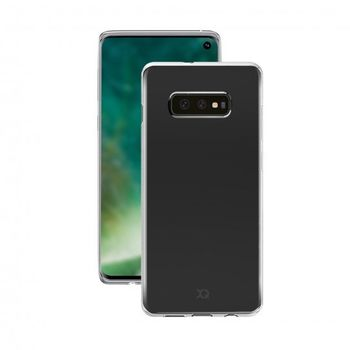XQISIT GALAXY S10E BACK CASE FLEX CLEAR