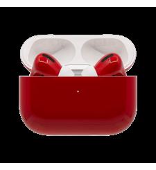 سويتش سماعات مطلية ايربودز برو من أبل لاسلكية, Gloss,  Ferrari Red