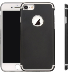 MYCANDY IPHONE 7 TITANIUM BACK CASE BLACK