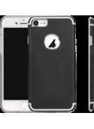 MYCANDY IPHONE 7 / IPHONE 8 TITANIUM BACK CASE BLACK