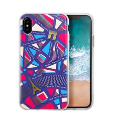 LAUT IPHONE X BACK CASE NOMAD,  purple