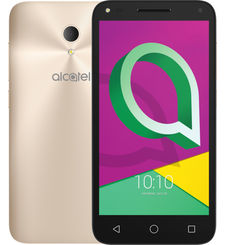 ALCATEL U5 4047F 16GB 3G DUAL SIM,  gold