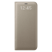SAMSUNG GALAXY S8 LED VIEW COVER,  gold