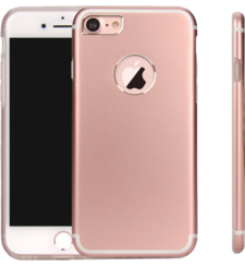 MYCANDY IPHONE 7 TITANIUM BACK CASE ROSE GOLD