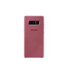 SAMSUNG GALAXY NOTE 8 ALCANTARA COVER,  pink