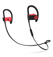 BEATS POWERBEATS3 INEAR WIRELESS HEADPHONES,  siren red