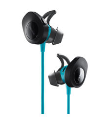 BOSE BLUETOOTH HEADPHONE SOUNDSPORT,  aqua